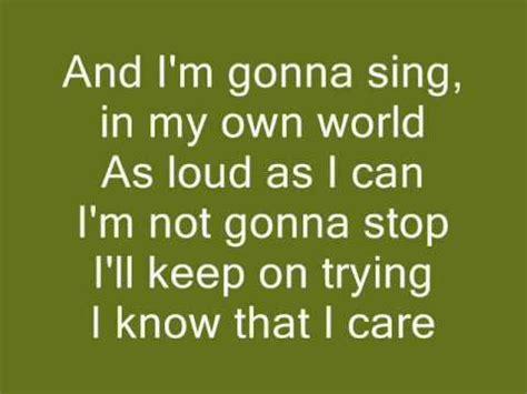 My Own World 2 violetta 2 in my own world letra