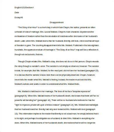 analysis essay template   sample  format