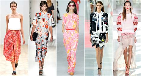 Summer 08 Trends Floral The Catwalk Looks by Bloom This Summer With Floral Prints Ispoz