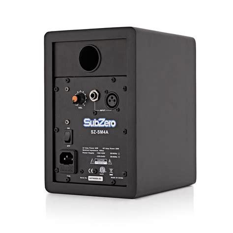 Subzero Sz Mix04 4 subzero sz 4a studiomonitorit yksitt 228 inen osoitteessa
