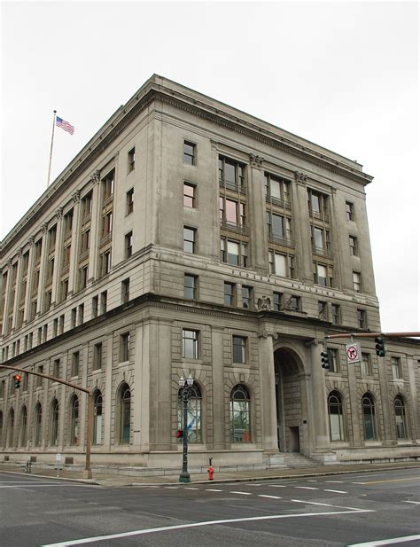 Portland Oregon Post Office by 511 Federal Building