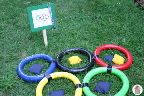 backyard bean bag toss game backyard olympic games hoosier homemade