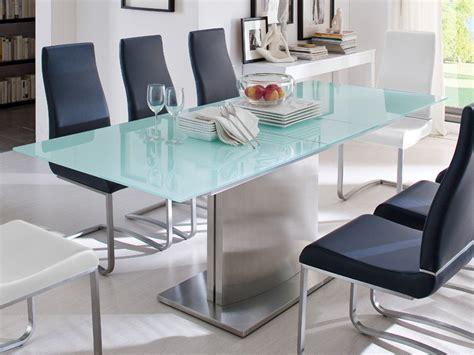 glastisch mit schublade dekorieren glastisch ausziehbar esstisch weiss verschiedene gr 246 223 en