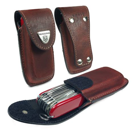 Swiss Army Free Leather 1 genuine leather victorinox swiss army pen knife pouch with belt loop 5 8 layers brown tuff