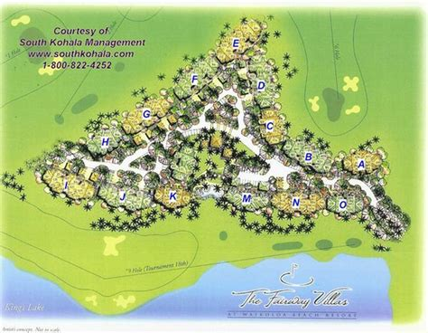 waikoloa resort map fairway villas m1 big island rentals