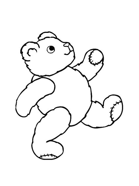 running bear coloring page bear running coloring pages kids coloring pages