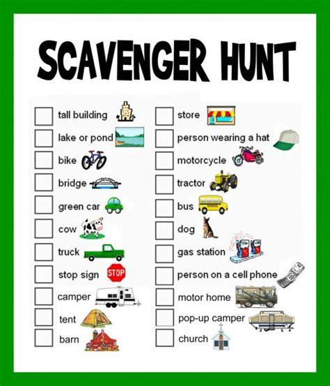 scavenger hunt map template scavenger hunt ideas lists and planning hubpages