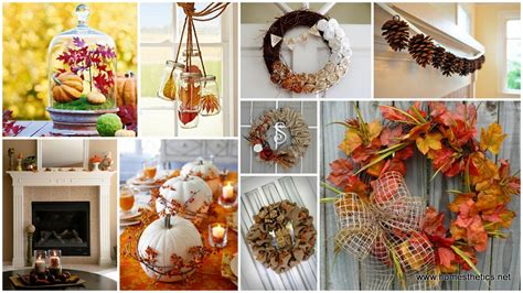 autumn decorations for the home diy autumn interior decor warm up your home and prepare