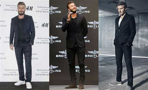 Kaos Deadpool Suits 7 types of suits that david beckham wore with