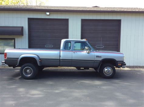 1st Dodge For Sale 1993 Dodge Ram 3500 4x4 Automatic Dually 1st Diesel