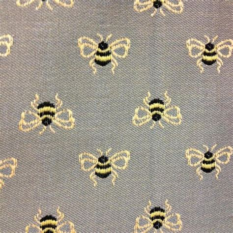 bee upholstery fabric bumble bounce junipher grey bee upholstery fabric for