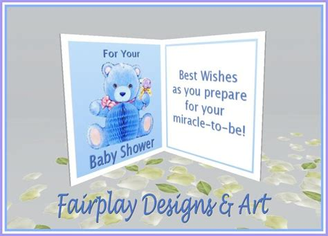 second marketplace fda best wishes baby shower