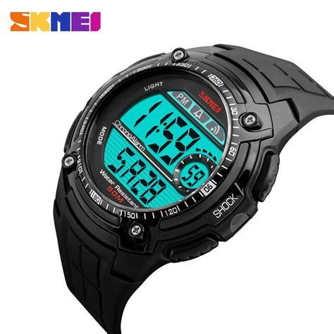 Jam Tangan Skmei Dg 1203 skmei jam tangan dg1203 jgos black jakartanotebook