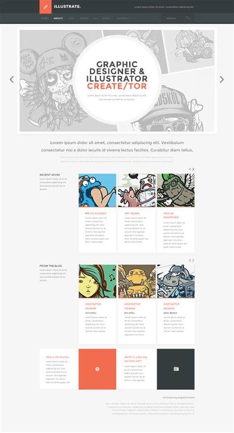 flat design template psd responsive psd web templates 25 free templates psd