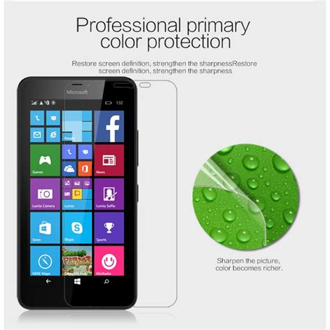 Hp Nokia Lumia 640 Xl Lte microsoft lumia 640 xl lte screen protector nillkin