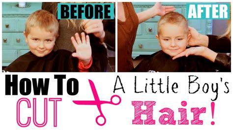 how to cut shaggy boys hair with scissors how to cut little boy s hair with clippers scissors