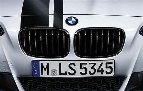 M And S Blinds Bmw M Performance Genuine Front Left Kidney Grille Black