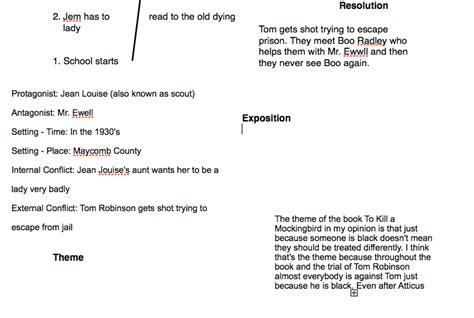 plot and theme of to kill a mockingbird plot graph to kill a mockingbird by harper lee