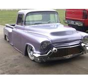 57 Chevy Truck With Caddy Front Bumper/grill  Sick