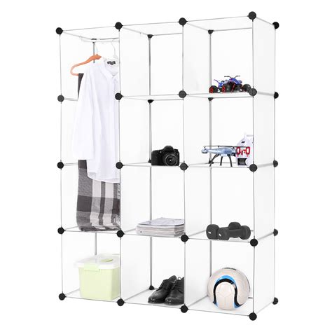 Clothes Storage Systems 12 Cube Clothes Shoes Toys Storage Organizer Shelving