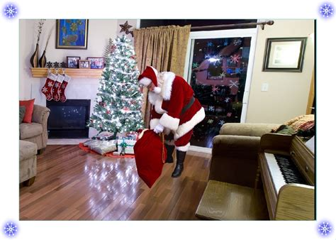 santa in your living room good morning it s a sunday 5 kind of monday morning