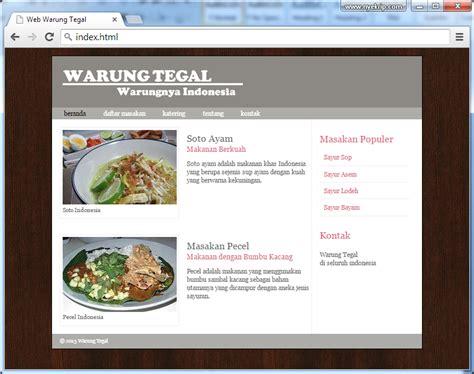 langkah membuat web dengan php cara membuat website sederhana dengan html 5 nyekrip