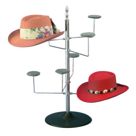 Hat Display Shelf by S Countertop Wire 8 Hat Display