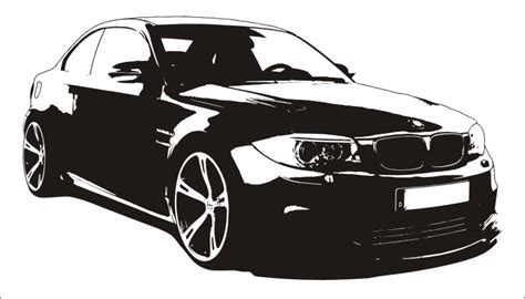 Bmw Aufkleber Shop by Bmw 1er Coupe M Wandtattoo Car Tattoo Sportwagen 135i