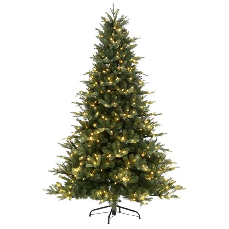martha stewart alexander 75 ft christmas tree reviews martha stewart living 7 5 ft pre lit led pine set artificial tree