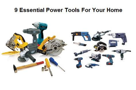 5 essential power tools for your home