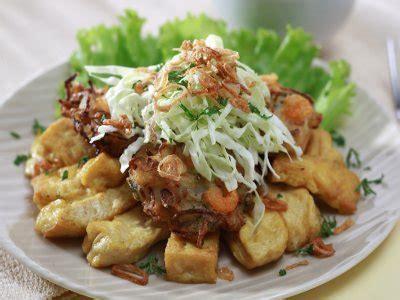 resep tahu gimbal masakan khas semarang indonesia aneka