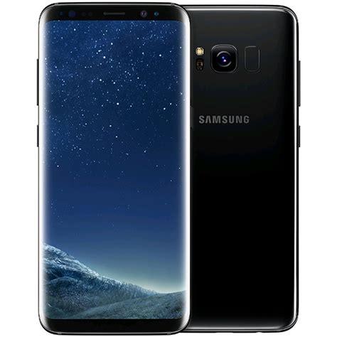 Samsung S8 Black samsung galaxy s8 uk 64gb midnight black expansys