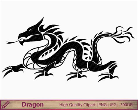 dragon clipart chinese dragon tattoo clip art china