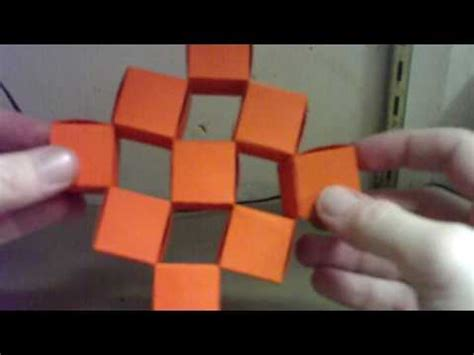 origami moving cubes origami icosahedron by heinz strobl