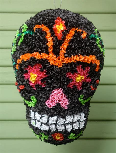 Handmade Pinata - 18 best day of the dead dia de los muertos pinatas images