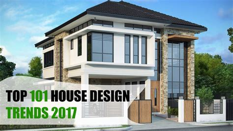 home designs 2017 top 101 house design trends 2017 youtube