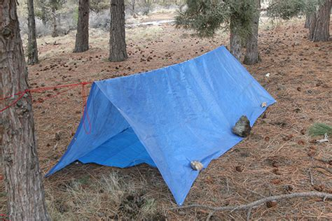How To Build A Tarp Shed by The A Frame Tarp Shelter Simple Effective And Practical