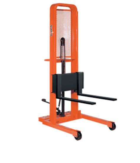 presto lifts manual lift stacker m278 m200 series