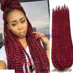 burgundy braiding hair 24inch 135g piece burgundy ombre braiding hair kanekalon