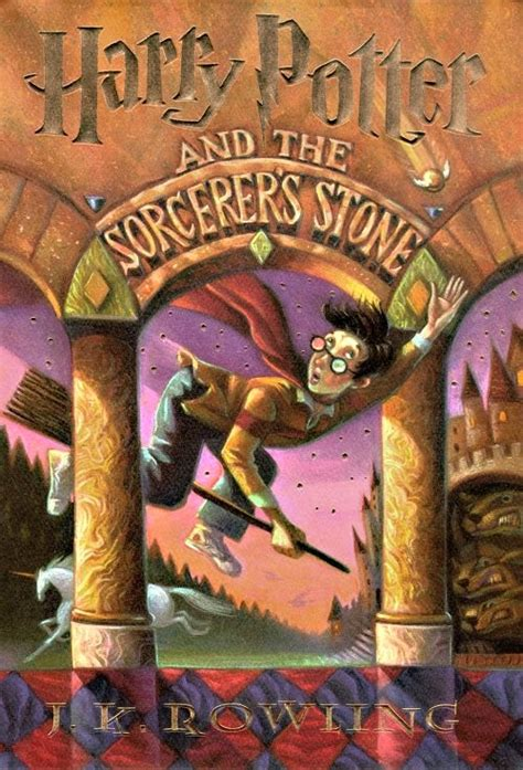 Harry Potter And The Sorcerers Stone Book Cover | harry potter books