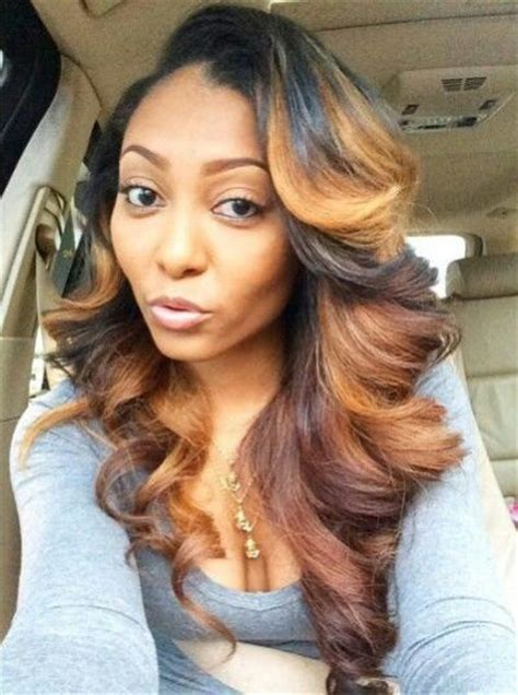 blonde sew in on dark kin hair color for olive skin 36 cool hair color ideas to