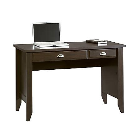 Sauder Shoal Creek Computer Desk Jamocha Wood By Office