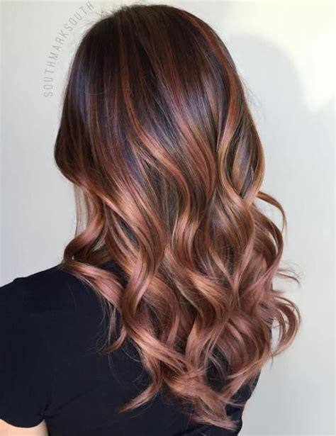 chocolate brown hair with gold highlights chocolate brown hair colors new hair color ideas the 25 best gold brown hair color ideas on brown hair gold ombre brown