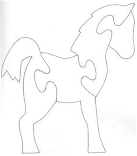 free printable horse jigsaw puzzles dala horse pattern use the printable outline for crafts