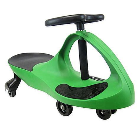 joybay swing car ride on buy joybay swing car in green from bed bath beyond