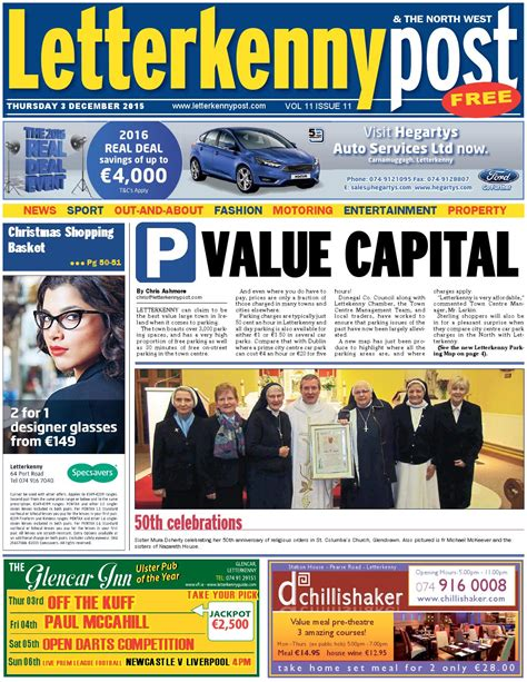 charity letterkenny letterkenny post 03 12 15 by river media newspapers issuu