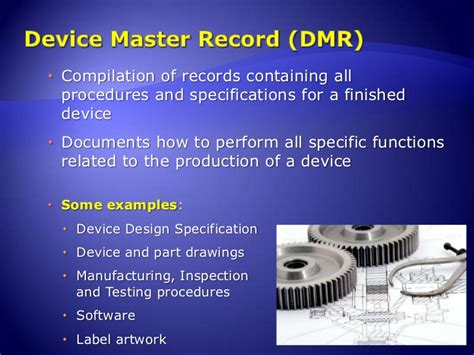 elements of a quality system for medical devices