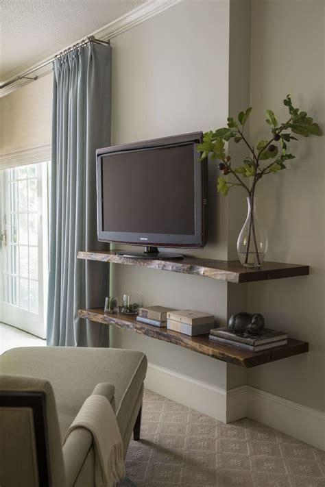 Bedroom Tv Shelf Ideas Best 25 Tv Shelf Ideas On Bedroom Tv Wall