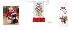 Strawberry Home Decor christmas kitchen towels