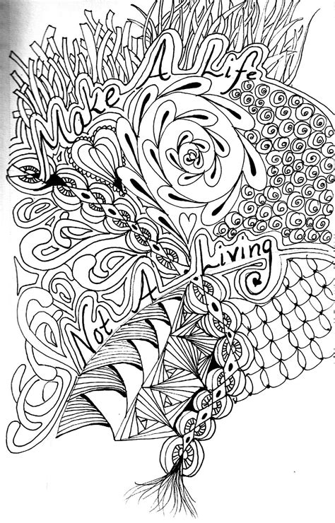 advanced nature coloring pages printable advanced coloring pages mandala nature etc